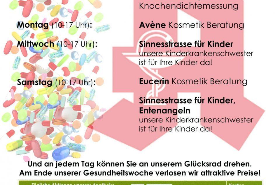 Gesundheitswoche 09. bis 14. April 2018